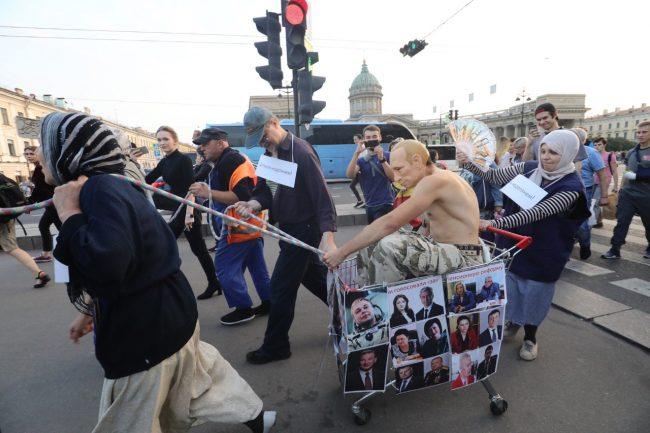 """""""Весна"""", акция против пенсионной реформы"""