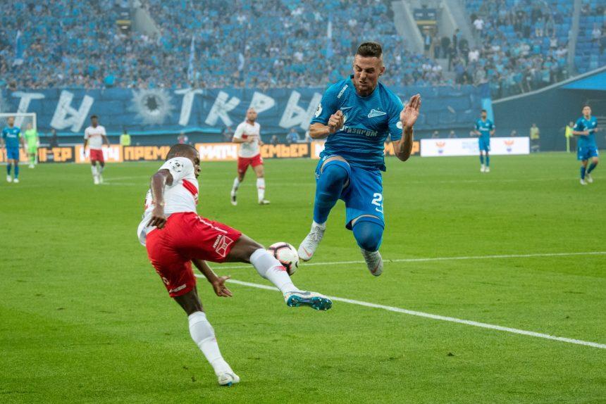 футбол Чемпионат России 2018/19, «Зенит» — «Спартак»