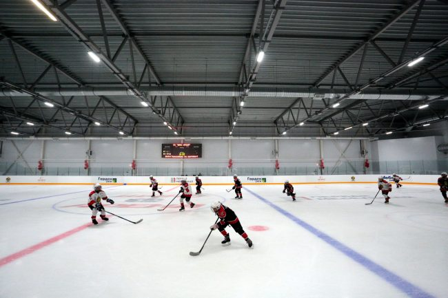 спорткомплекс Шанс Арена хоккей