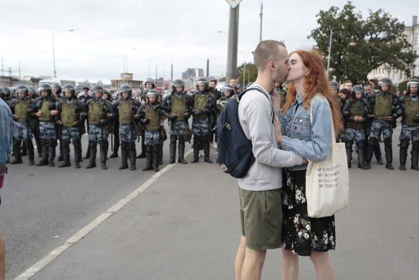митинг акция протеста задержание задержания навальный против пенсионной реформы пенсионная реформа