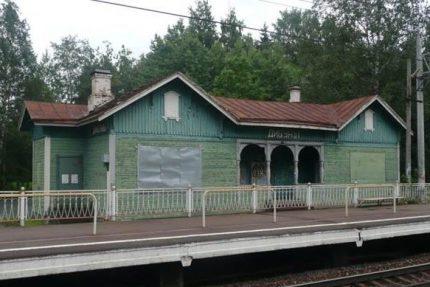 дибуны вокзал