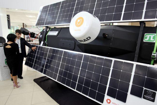 катер на солнечных батареях политехнический университет инновации