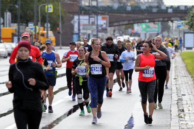 спорт лёгкая атлетика бег пробег Пушкин - Санкт-Петербург девушки красота