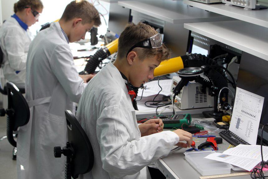 академия цифровых технологий дети школа образование обучение электроника