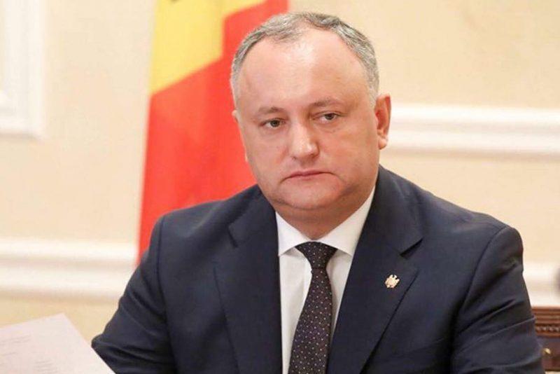 игорь додон президент молдавии