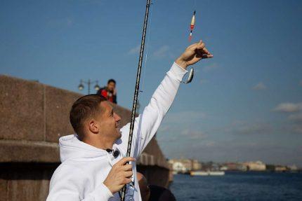 Кержаков, рыбалка