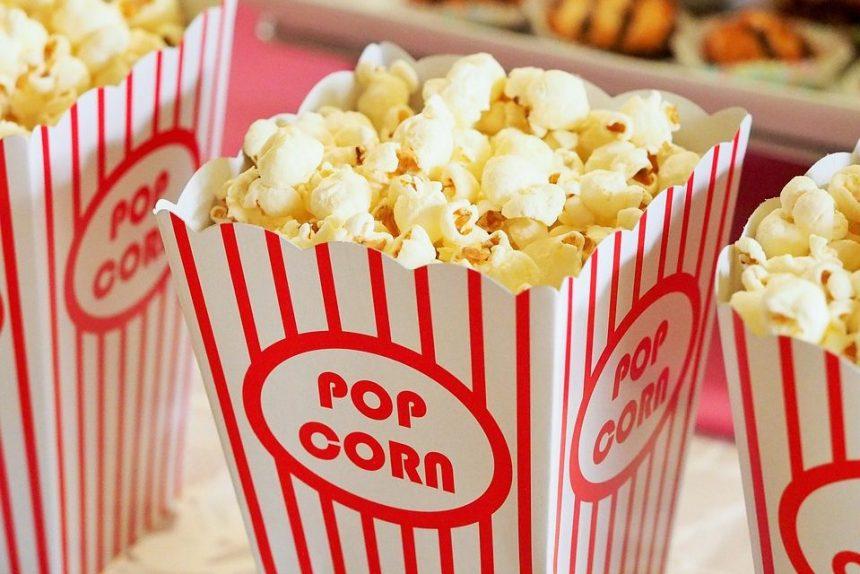 попкорн кино кинотеатр