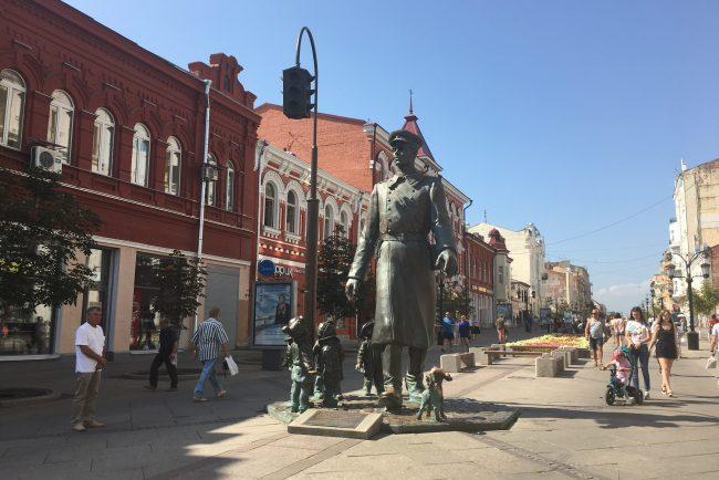 самара ленинградская пешеходная улица памятник дяде стёпе