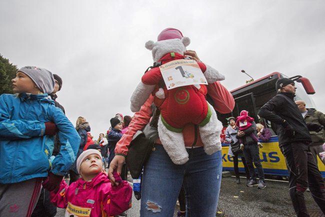 марафон Тарту лёгкая атлетика бег спорт дети