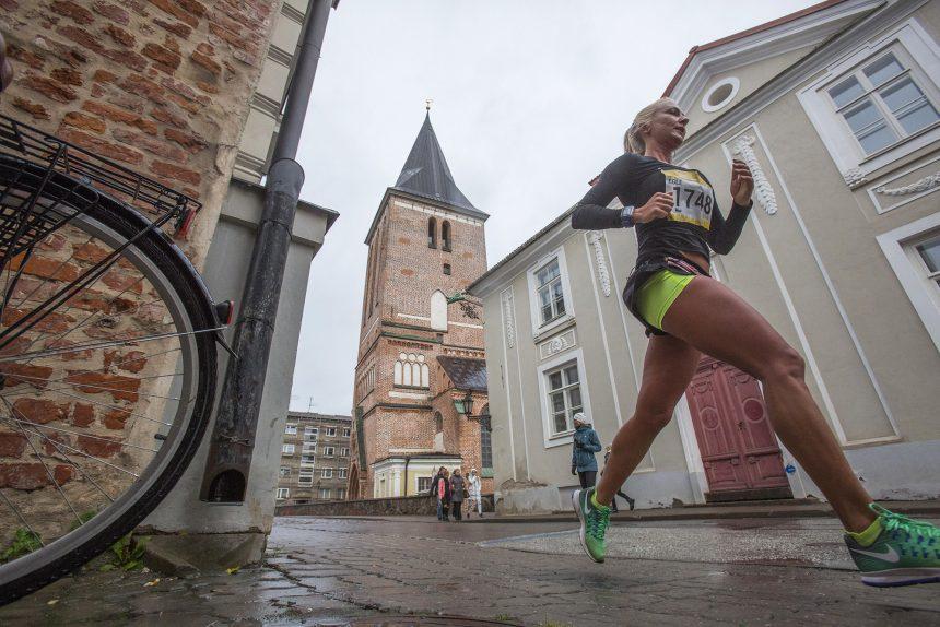 марафон Тарту лёгкая атлетика бег спорт