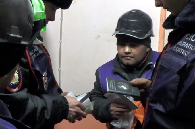 полиция рейд миграционное законодательство мигранты проверка
