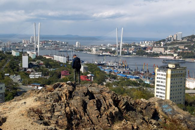 Владивосток Золотой мост