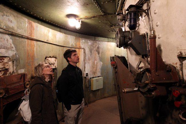Владивосток Ворошиловская батарея военный музей