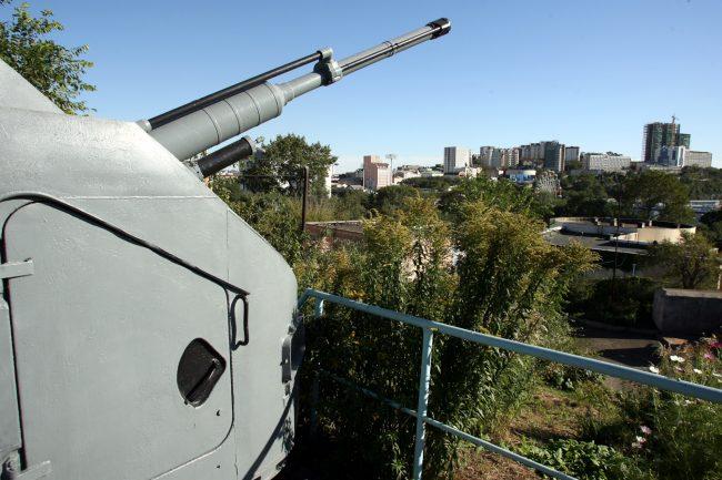 музей Владивостокская крепость орудие пушка артиллерия