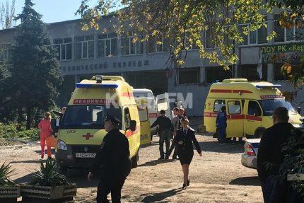 Взрыв в керченском коллежде