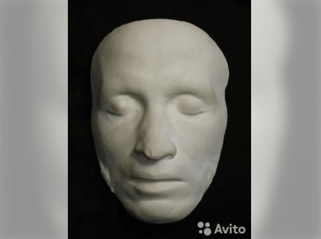 посмертная маска Пушкина