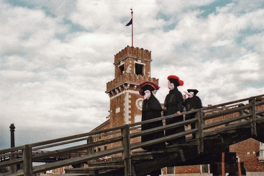 карнавал венеция маски