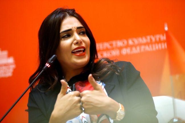 Культурный форум Декан колледжа гуманитарных и общественных наук Университета Хамада бен Халифы – Фонда Катара Амаль Мохаммед Аль-Малки