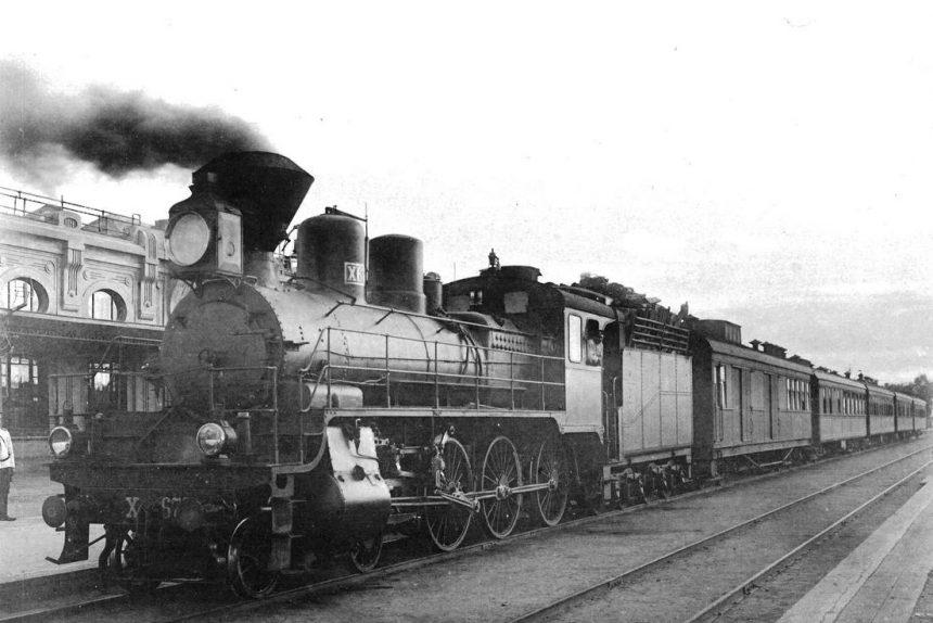 железная дорога паровоз КВЖД Китайско-Восточная железная дорога