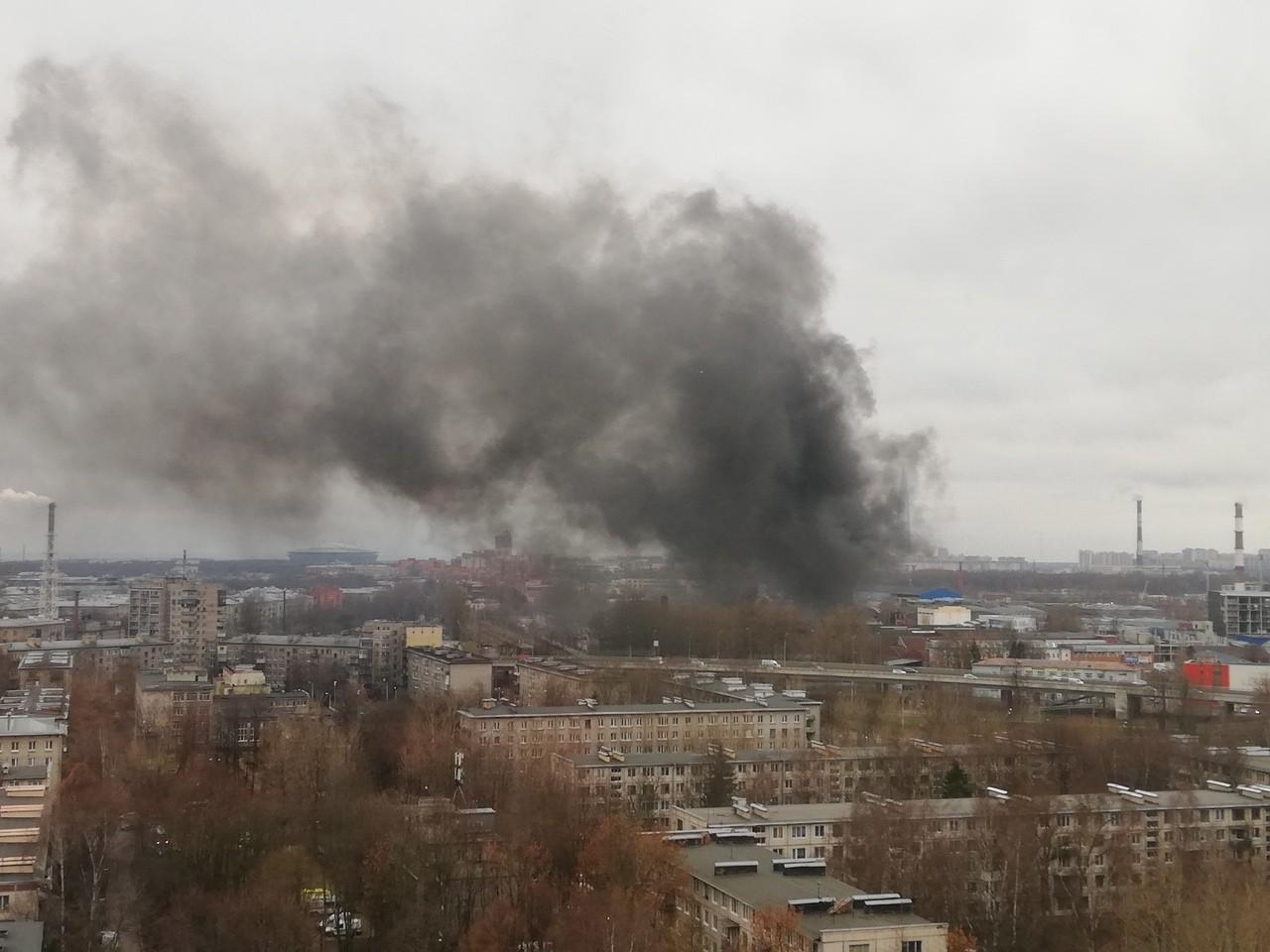 пожар приморский район коломяжский проспект