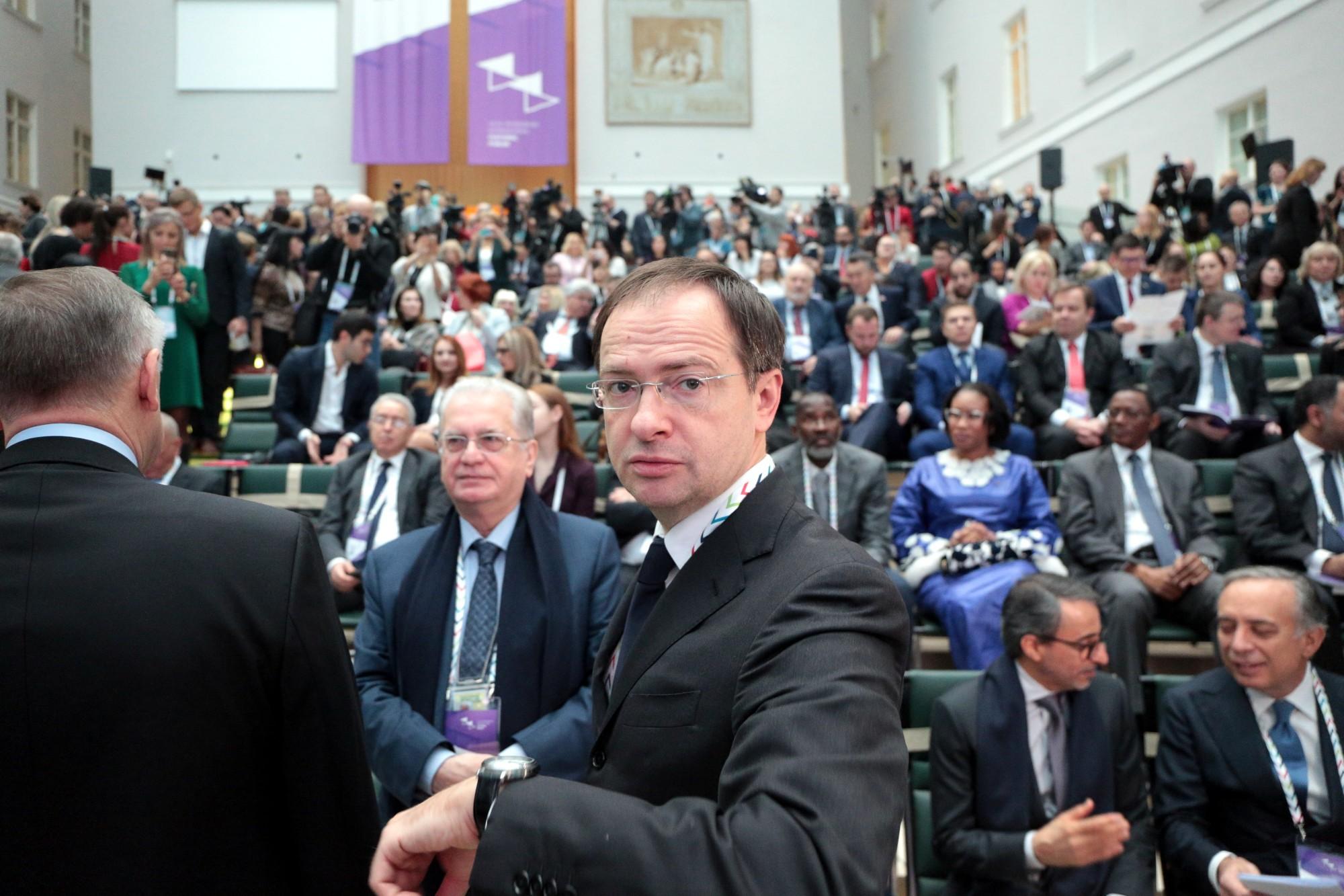 VII Санкт-Петербургский международный культурный форум Владимир Мединский