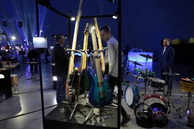 Вселенная звука планетарий культурный форум музыкальные инструменты