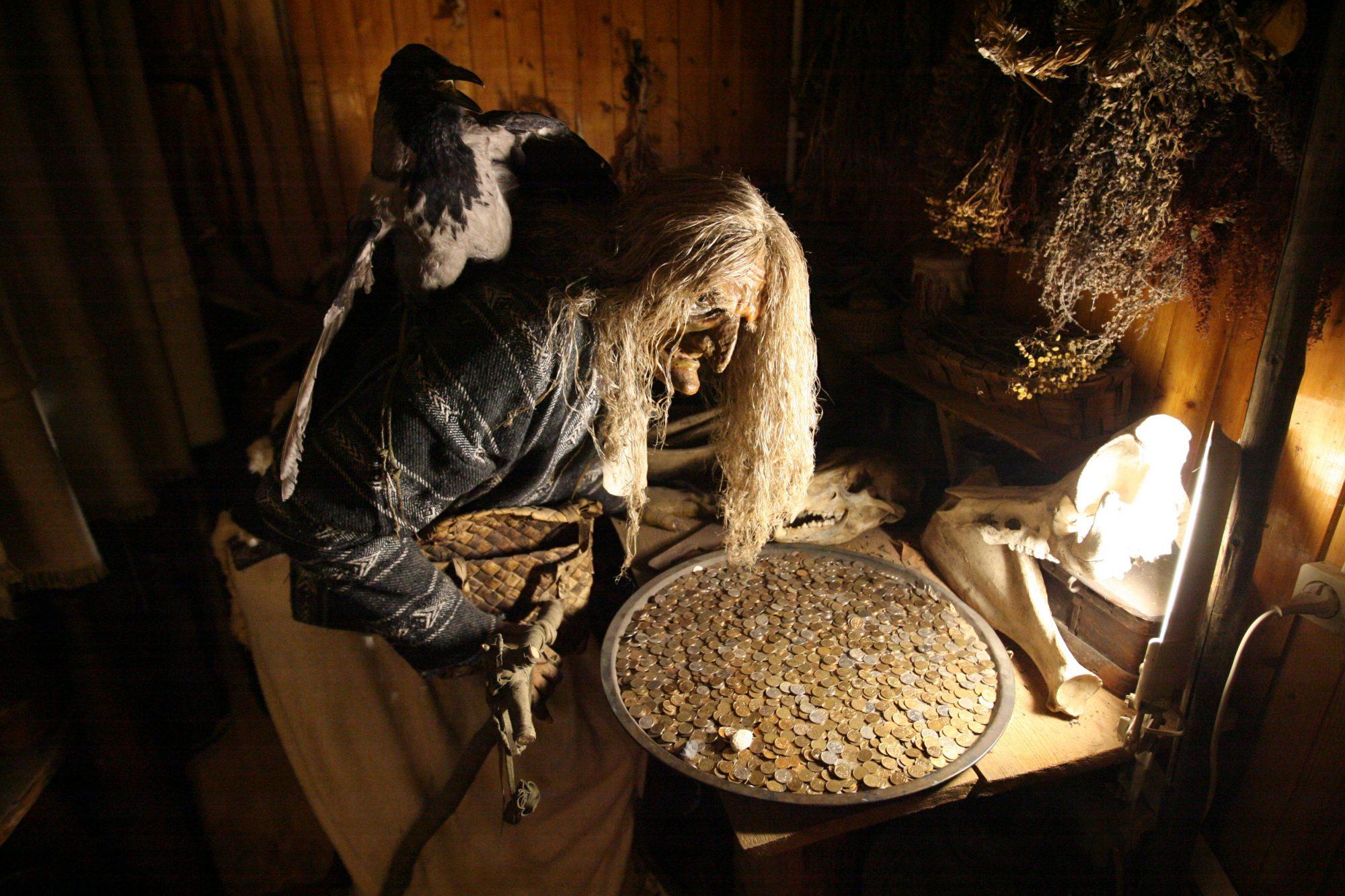 музей мифов и суеверий русского народа Углич Ярославская область ужасы ведьма баба-яга