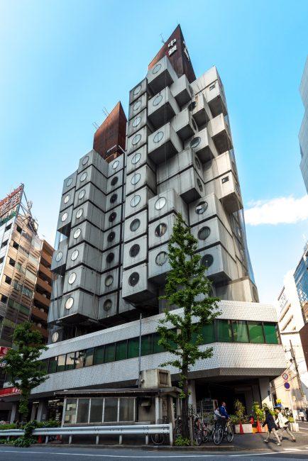 Япония Осака Башня «Накагин»