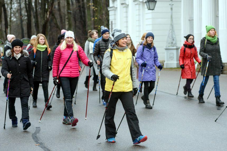 фестиваль скандинавской ходьбы спорт