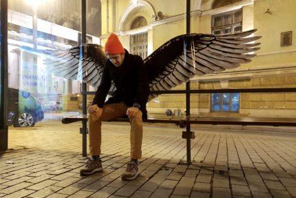 ангел остановка крылья