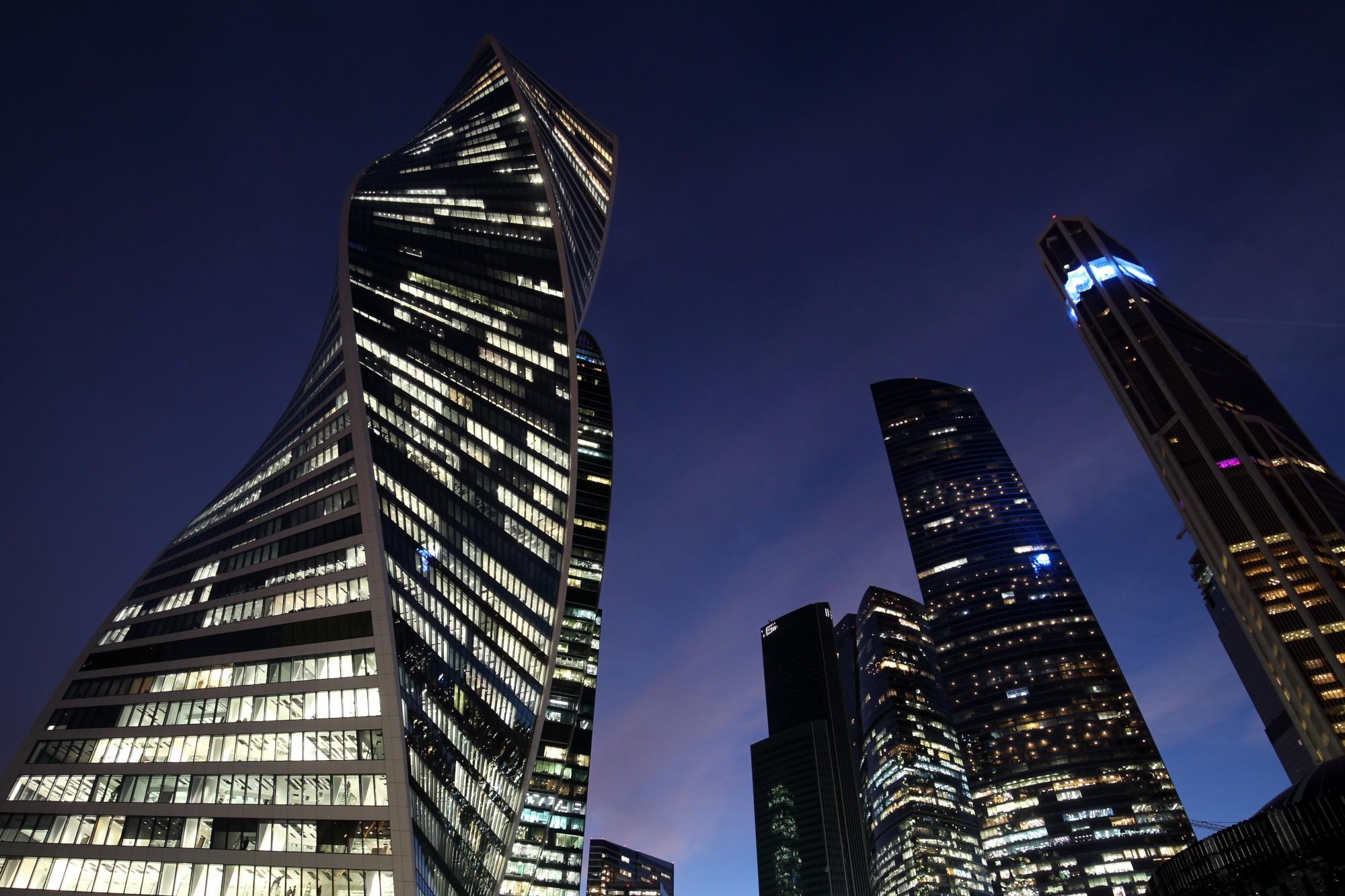 небоскрёб Москва-Сити башня Эволюция Транснефть