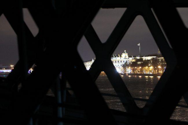 Благовещенский мост (Лейтенанта Шмидта) Адмиралтейство