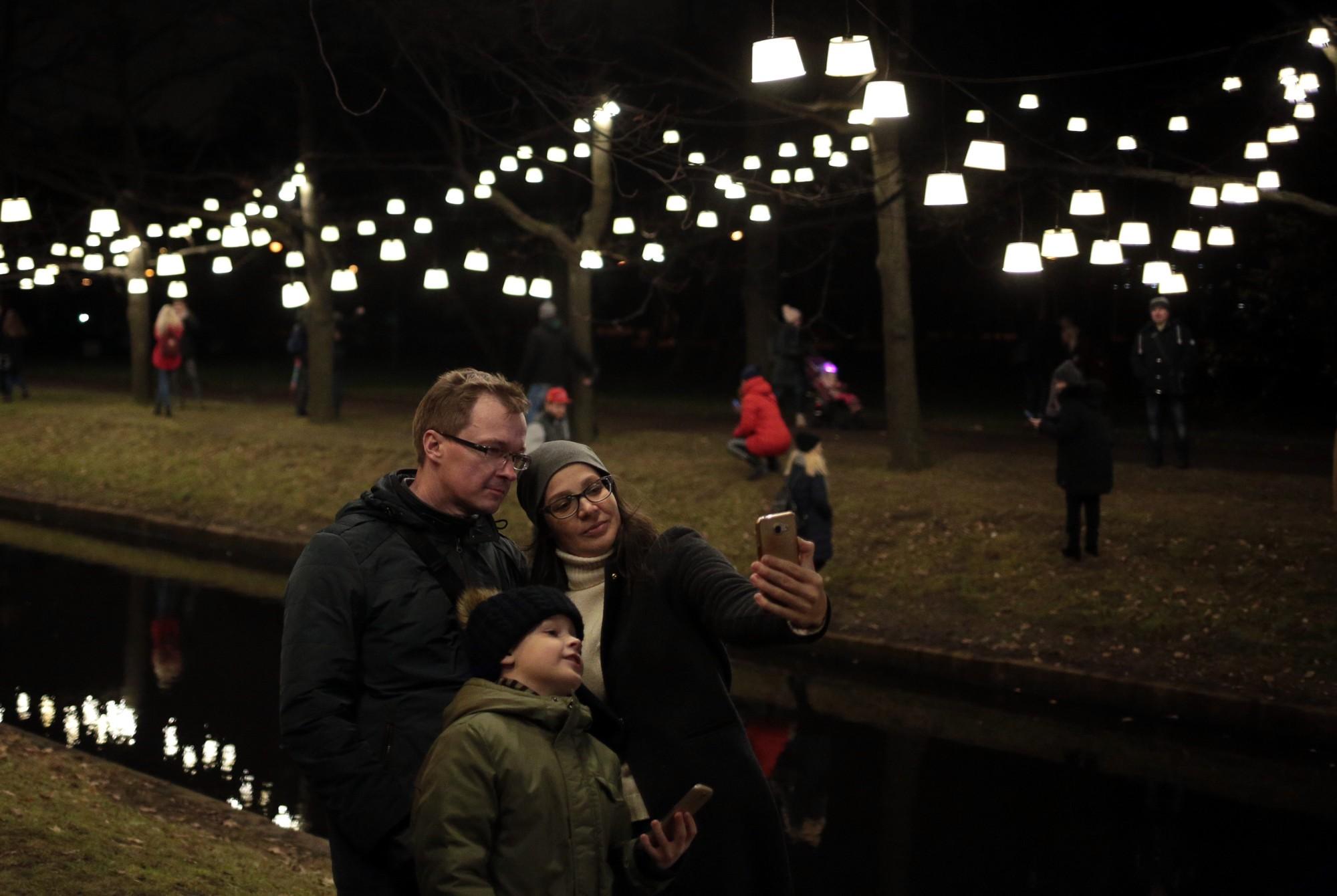 ВПетербурге открылся Фестиваль света