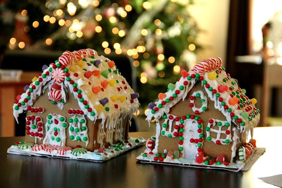 пряник пряничный домик новый год рождество