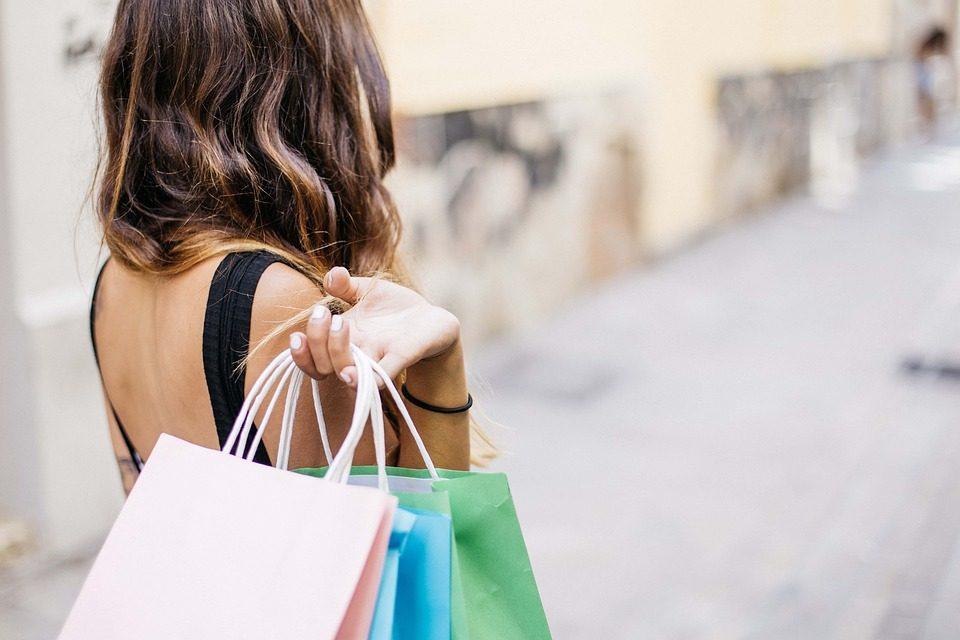 шопинг покупки пакеты магазины