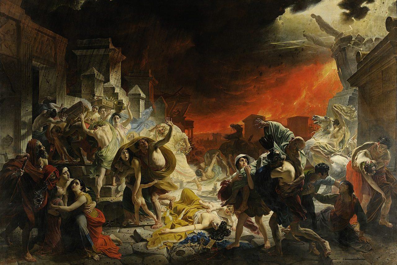 Последний день Помпеи, картина, шедевр, Русский музей