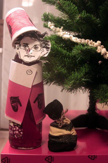 новогодние украшения своими руками рукоделие дед мороз свинья