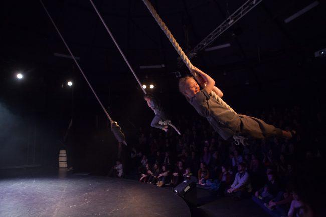 Упсала-Цирк, цирк для хулиганов, спектакль, Сны Пиросмани