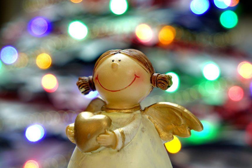 ангел, рождество, игрушка
