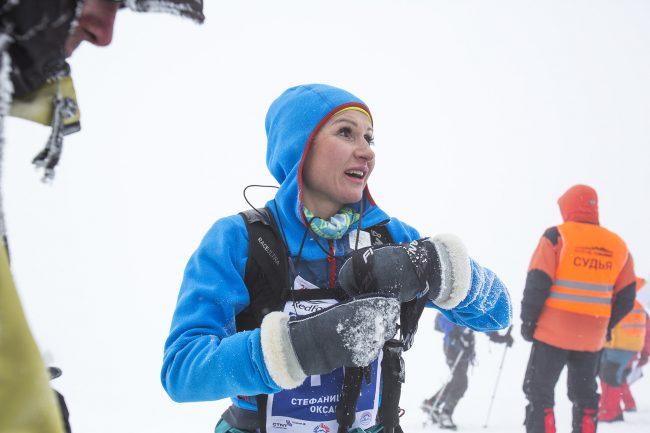 экстремальный спорт бег горы марафон фестиваль Red Fox Elbrus Race Оксана Стефанишина