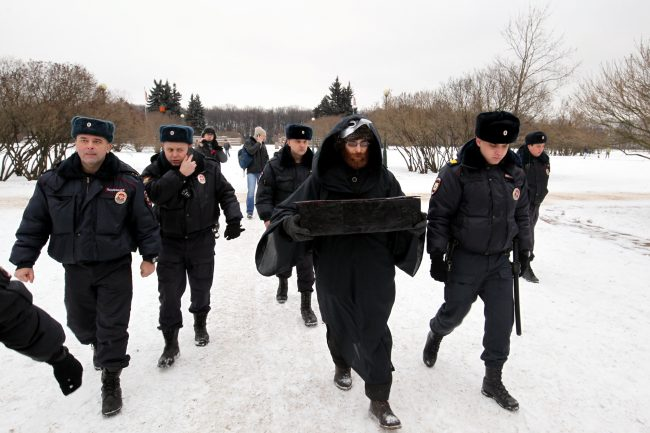Марсово поле акция в защиту Пулковской обсерватории задержание полиция