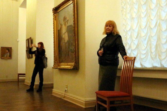 Русский музей смотрители