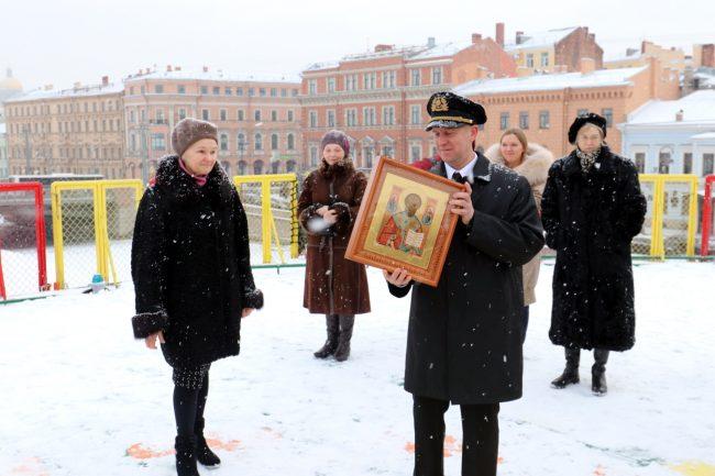 ледокол Андрей Вилькицкий Ирина Тихомирова и капитан Юрий Ахромкин