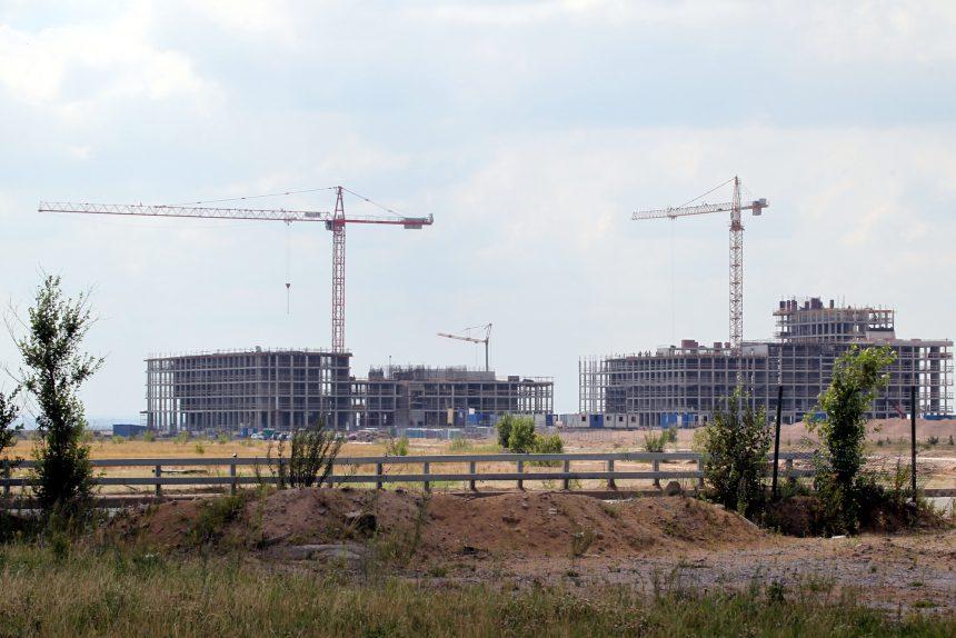намыв зелёные зоны стройка строительство
