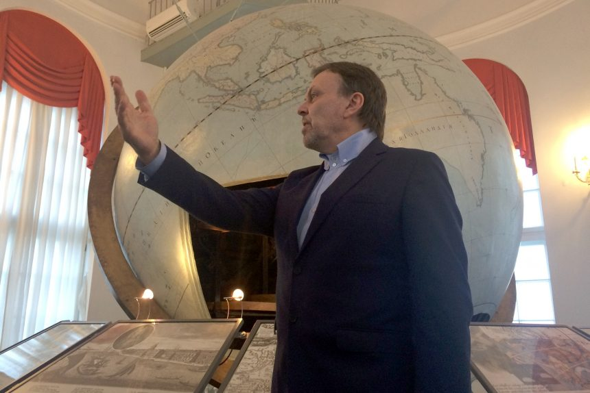 Кунсткамера Готторпский глобус Андрей Головнёв