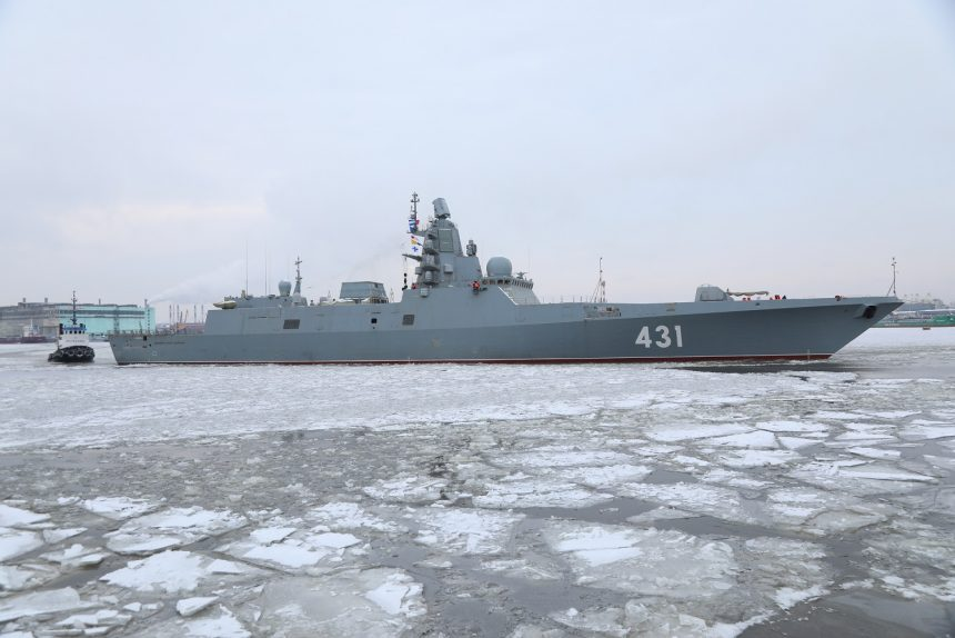 фрегат Адмирал флота Касатонов военный корабль кораблестроение судостроение Северная верфь