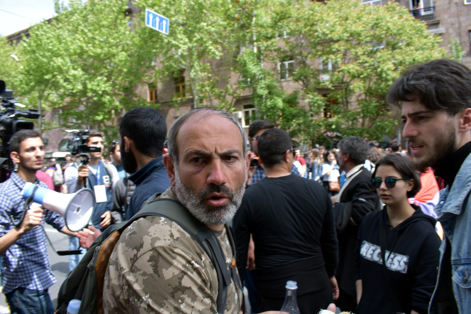 Никол Пашинян Армения Ереван революция