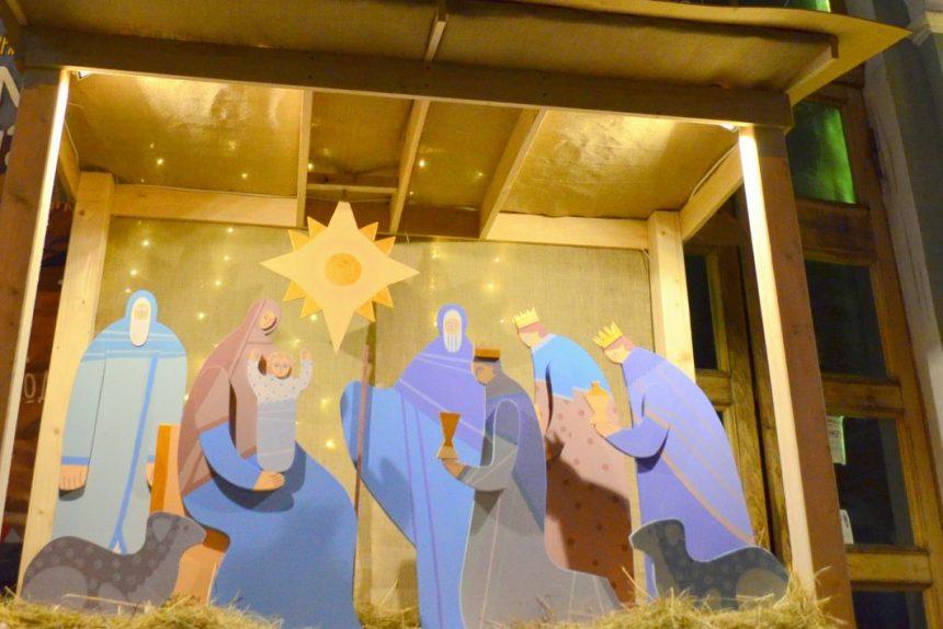 Рождественский вертеп у Анненкирхе