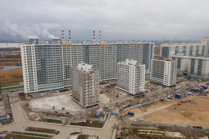 новостройки строительство ЖК Прибалтийский ГК Город