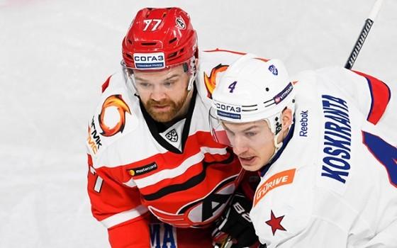 хоккейный матч СКА Автомобилист